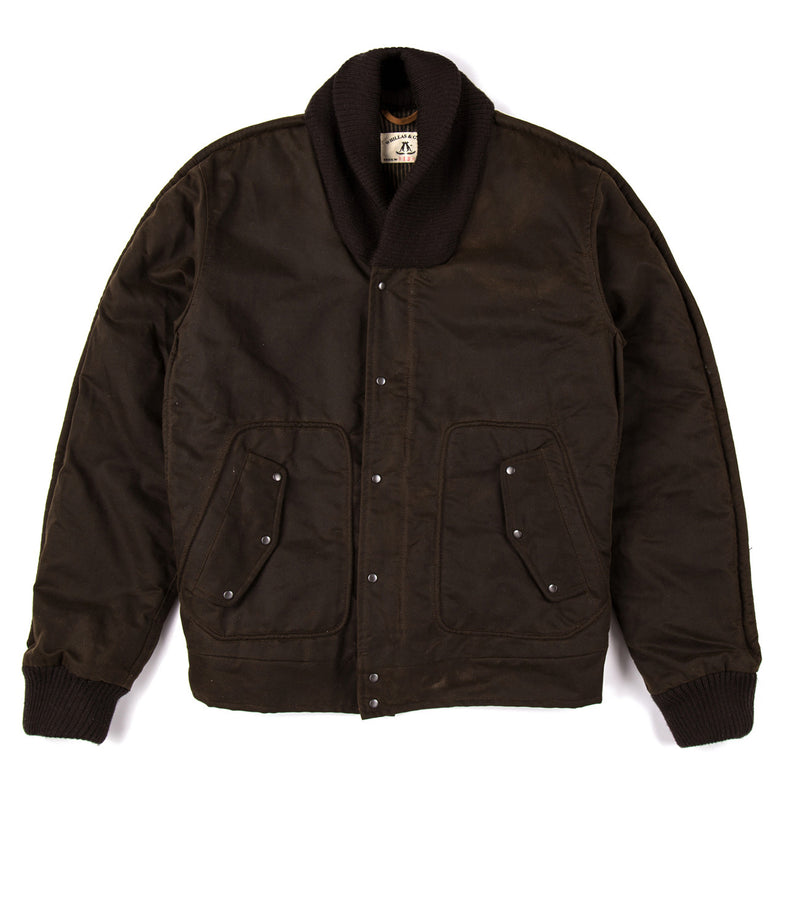 Tiger Bomber Jacket in Brown