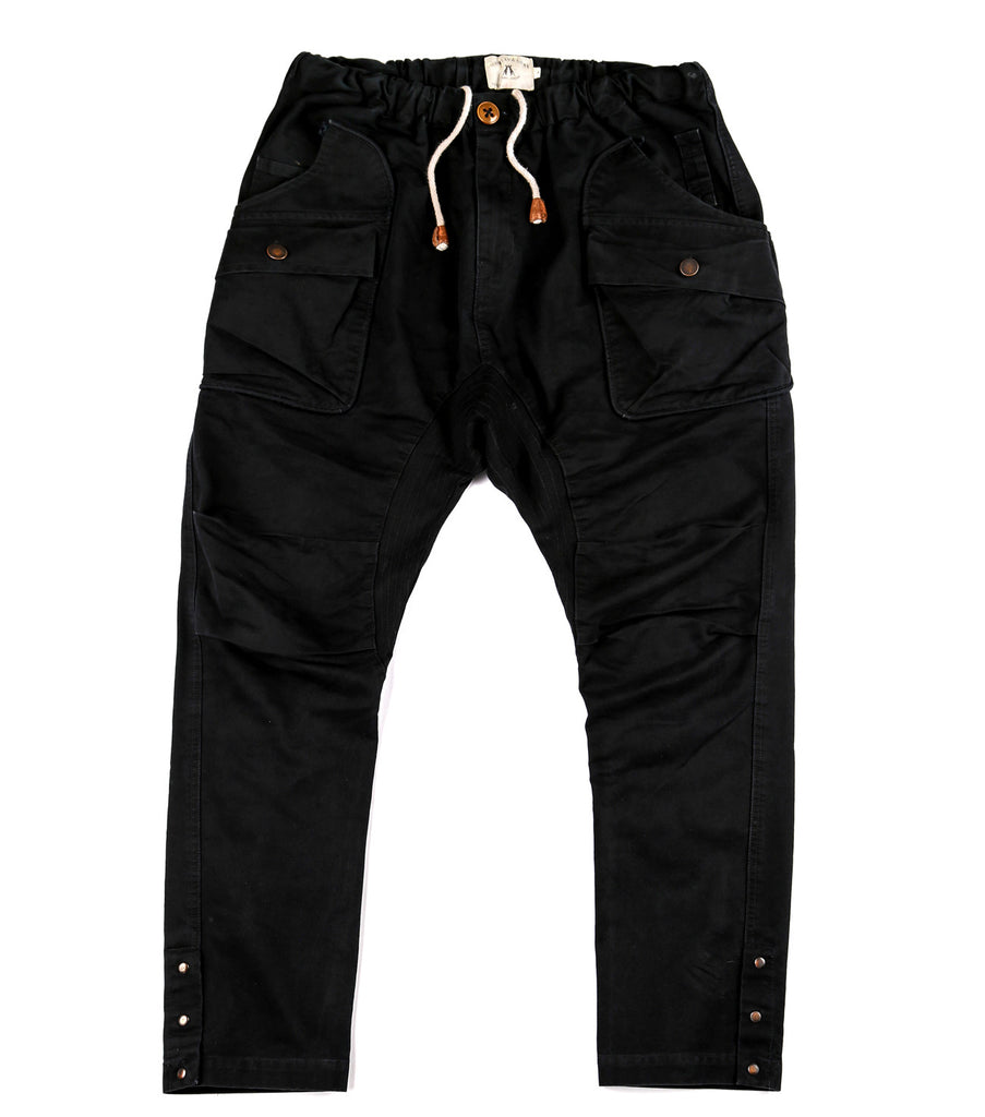 Alpha Drop Pants in Navy