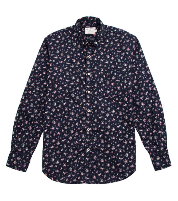 Santiago Shirt in Navy