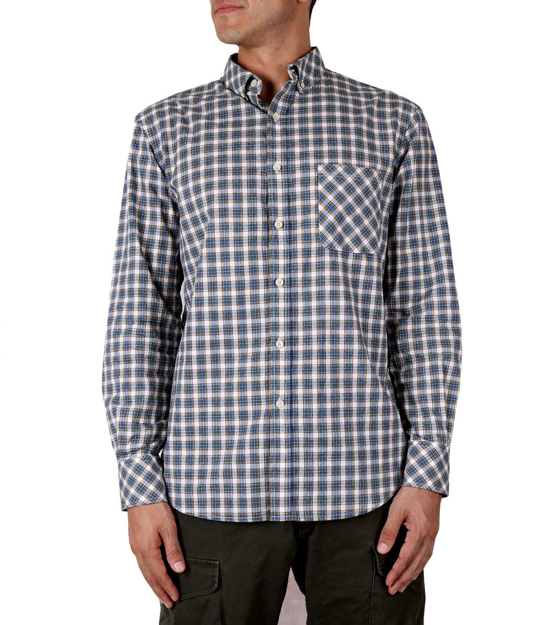 Glasgow Shirt in Blue Check