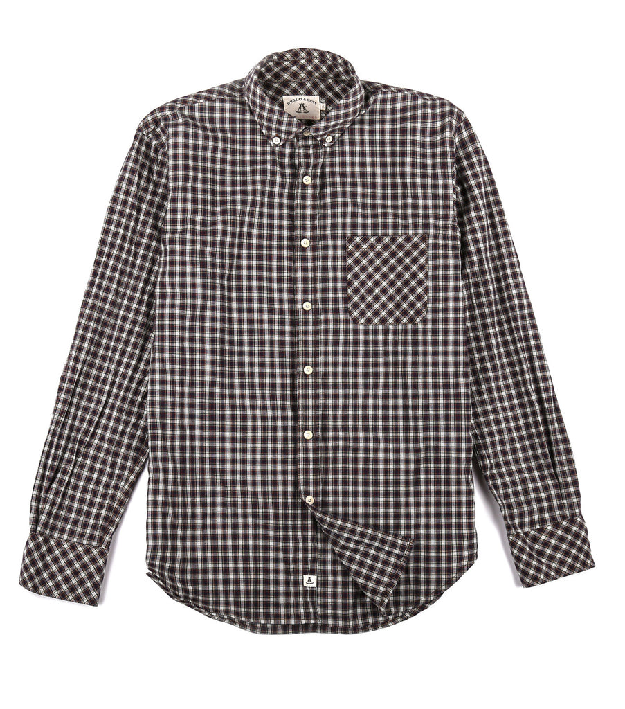 Glasgow Shirt in White Check