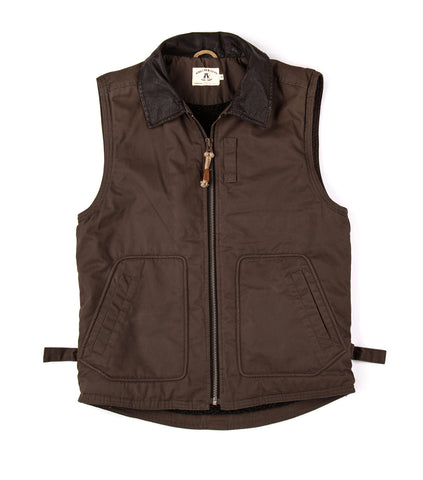 Smithton Vest in Mud