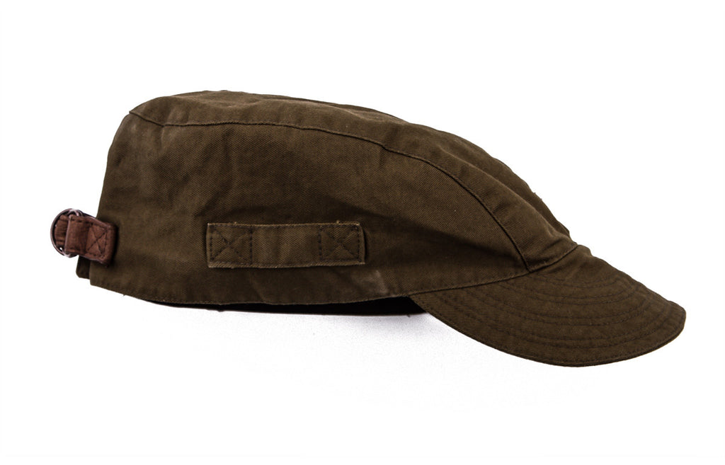 Mechanics Cap in Olive