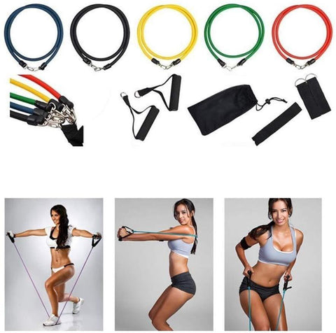 Image of Resibands™ 11pc Resistance Band Set