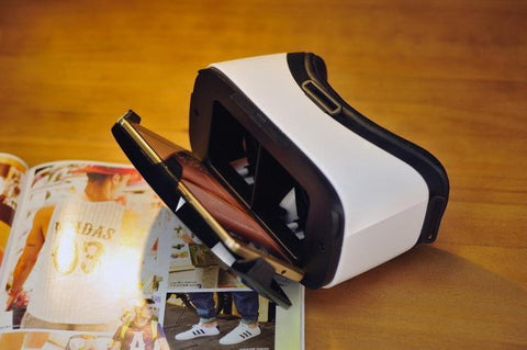 Biosafe VR Box 5.0 3D Glasses With 6.0'' 4K Display AR Virtual Reality