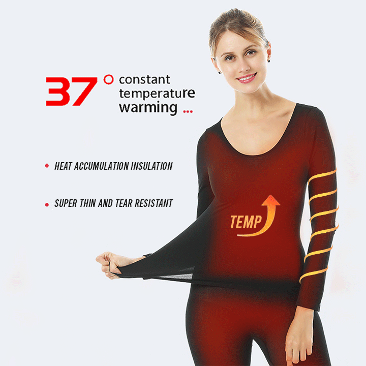 ULTRA-THIN THERMAL INNER WEAR - UNISEX (BLACK)