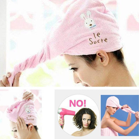 Image of Le Sucre™ Rapid Drying Hair Towel