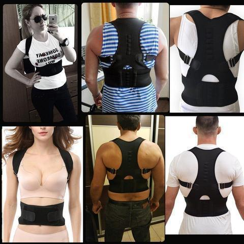 Image of ADJUSTABLE MAGNETIC POSTURE CORRECTOR