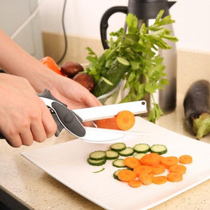 2 In 1 Clever Cutter Kitchen Knife