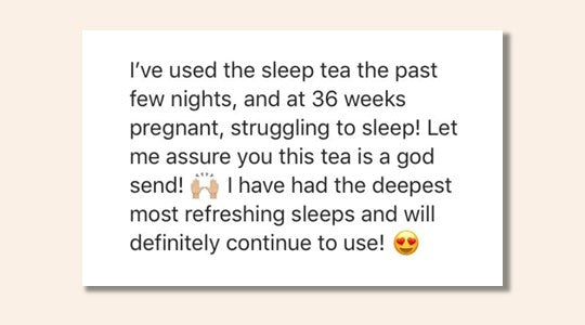 Sleep Herbs Feedback
