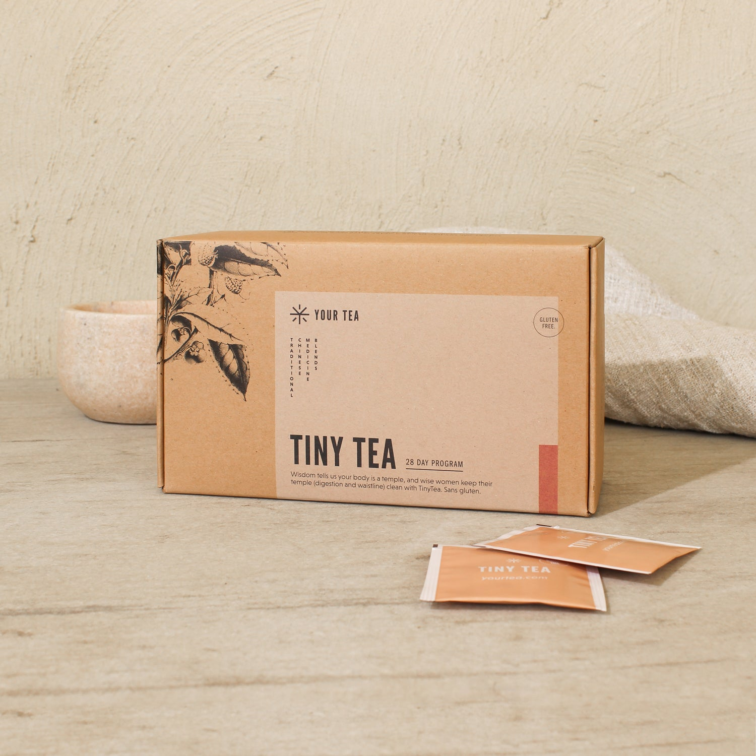 Gluten Free Tiny Tea Teatox (28 day)