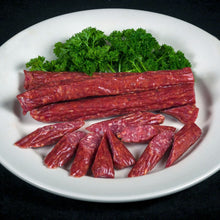 Load image into Gallery viewer, Beef pepperoni sticks made in Oregon from Keystone Beef in Redmond