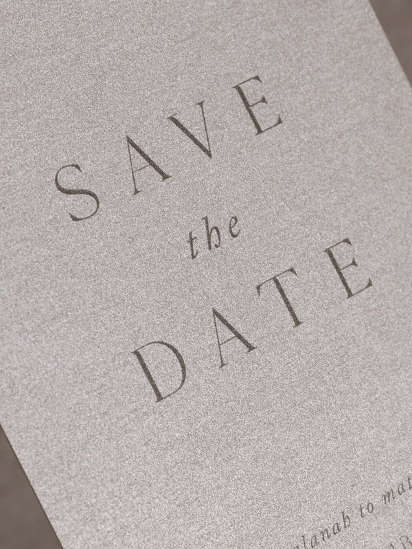 PURIST SAVE THE DATE