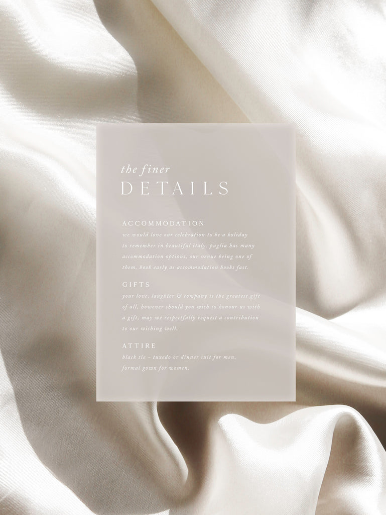 PEARL DETAILS CARD