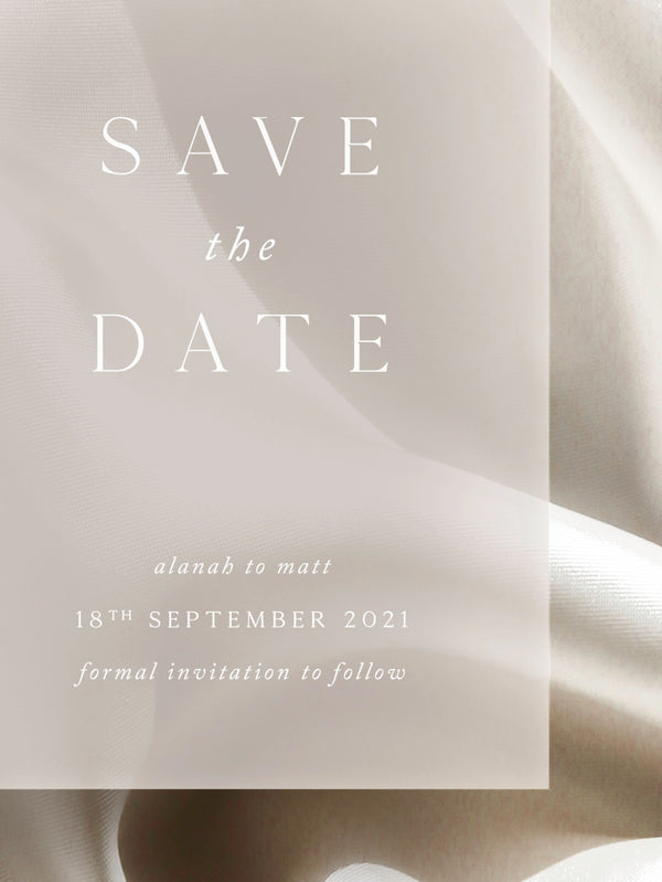 PRELUDE SAVE THE DATE