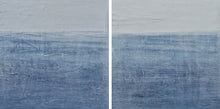 Denim tide #1 & Denim tide #2 diptych