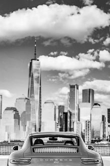 Porsche 911 - The One Millionth 911, New York skyline