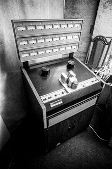 This 3M M79 24 Track is About to Have a Nervous Breakdown, Media Art Recording Studio, Hermosa Beach, 1979