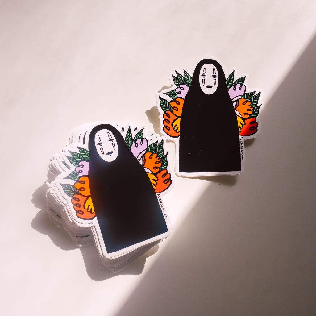 No Face Sticker