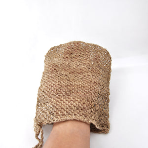 Wild Nettle Body Scrub-glove like-hand Crochet-using-kolpa