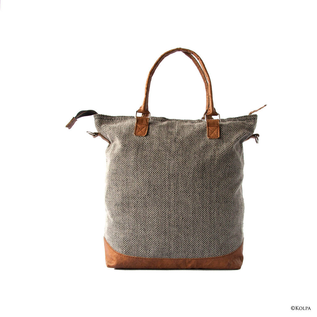 """AARU 2.0"" Linen Crossbody / Handheld Bag - kolpaworld.com"