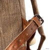 """CHARPATE"" Four Corner Nettle and Vegetal Leather Bag - kolpaworld.com"