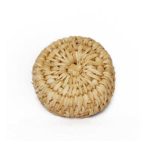 Corn Husk Mini Round Basket - kolpaworld.com