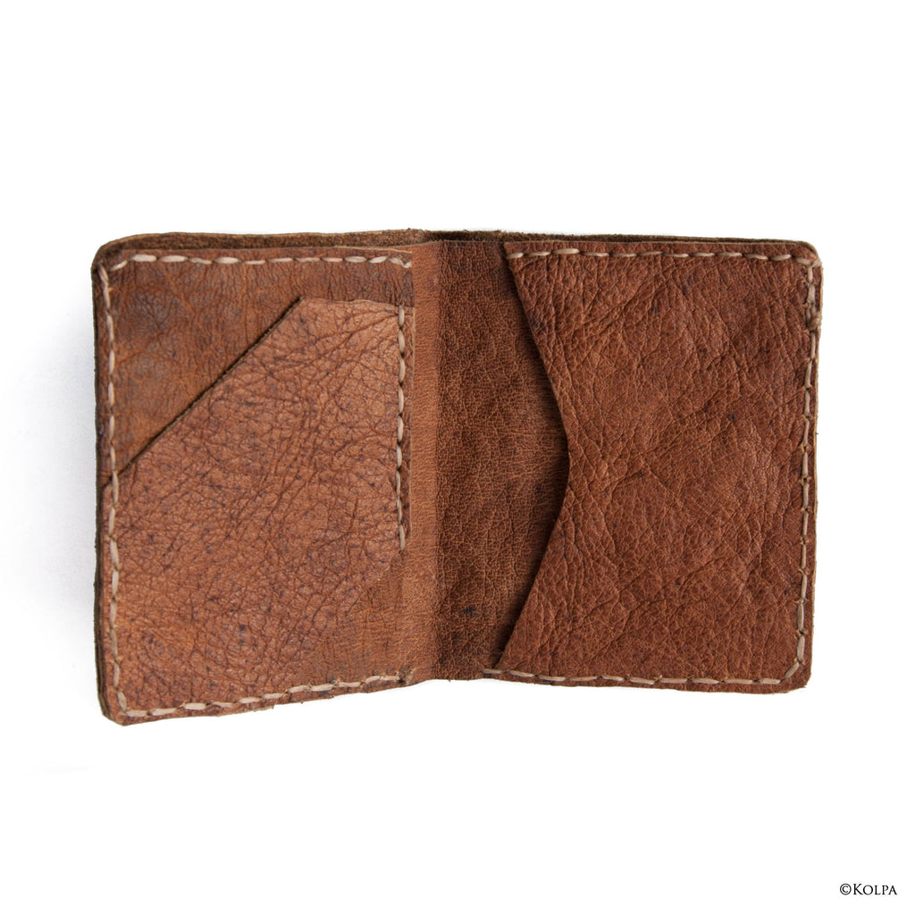 Bifold Leather Wallet - kolpaworld.com