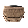 """ARJU-2"" Wild Nettle 'Allo' and Vegetal Leather Backpack - kolpaworld.com"