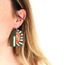 Load image into Gallery viewer, Ray Earth Clay Earrings