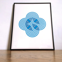 Load image into Gallery viewer, Stripy Flower Limited Edition Print (Unframed)