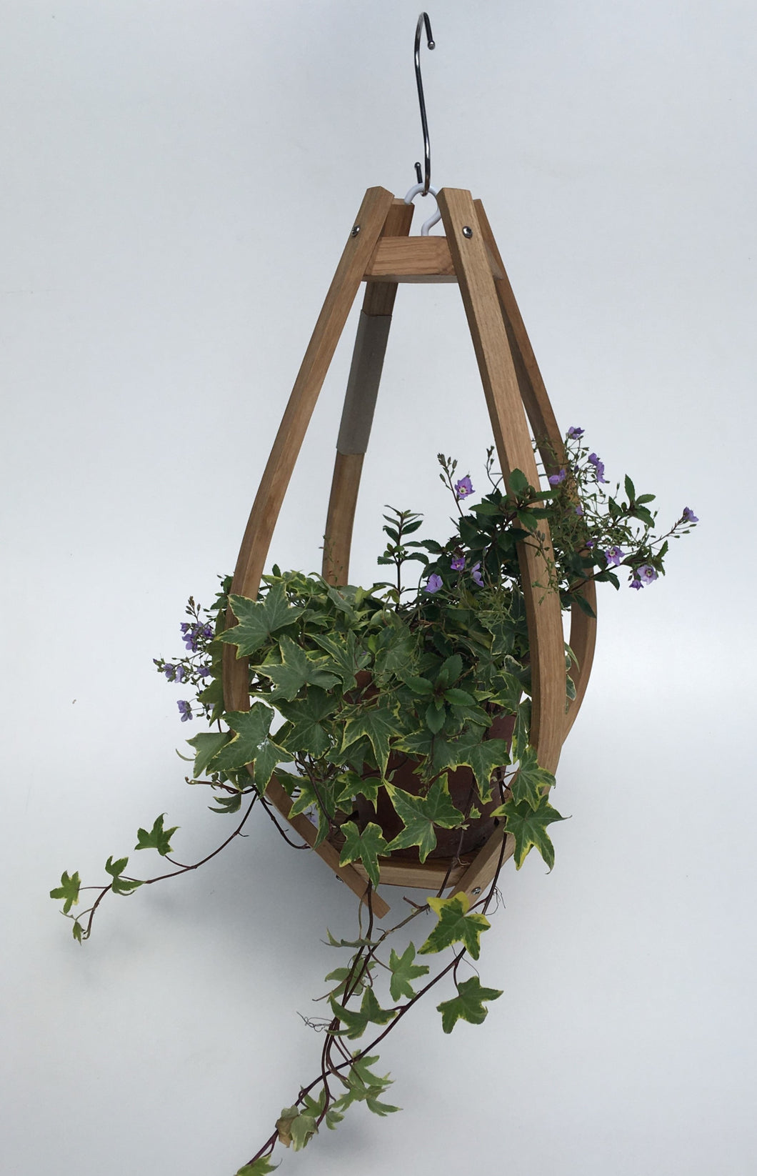 Oak Hanging Planter