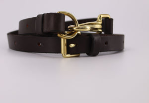 Leather Countryman's Unisex Belt (Made to Order)