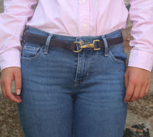 Load image into Gallery viewer, Leather Countryman's Unisex Belt (Made to Order)