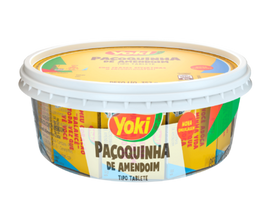 Pacoca de Tablete Yoki (Yoki Ground Peanut Candy Tablet)