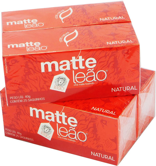 Mate Leão Chá Natural (Tea Mate Leao)