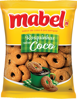 Rosquinhas Mabel Sabor Coco (Mabel Coconut Cookies)