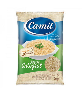 Arroz Integral Camil (Camil Whole Grain Rice) 1Kg