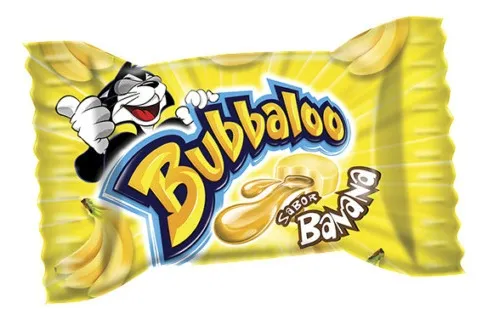 Bubbaloo de Banana (Bubbaloo Banana Gum)
