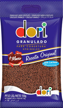 Chocolate Granulado Sem Lactose Dori (Dori Granulated Chocolate Lactose Free)