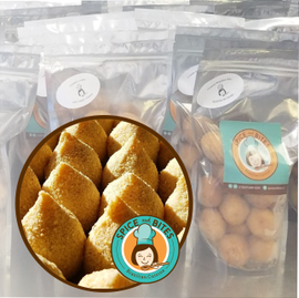 Coxinha de Frango Com Cream Cheese Pacote Pequeno - Spice and Bites (Spice and Bites Brazilian Chicken With Cream Cheese Croquettes - Small)