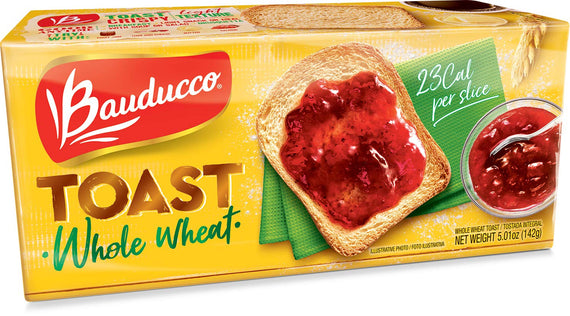 Torrada Integral Bauducco (Bauducco Whole wheat Toast)