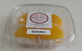 Quindim Dani Doce (Dani Doce Frozen Egg Yolks and coconut flan)
