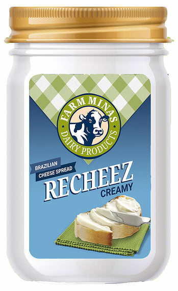 Requeijão Cremoso Pequeno Farm Minas (Farm Minas Cream Cheese Spread Small)