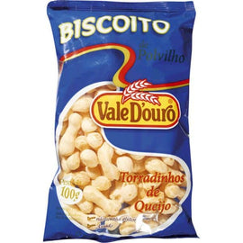 Biscoito de Polvilho Vale D'Ouro QUEIJO ( Vale D'Ouro Salted Cookies)