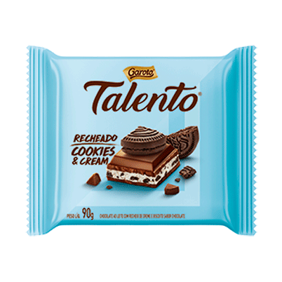 Chocolate Talento Cookies and Cream ( Talento Chocolate Cookies and Cream)