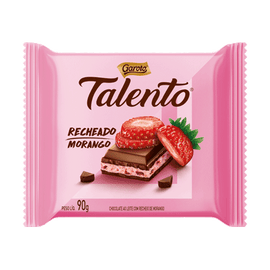 Chocolate Talento Morango ( Talento Chocolate With Strawberry)