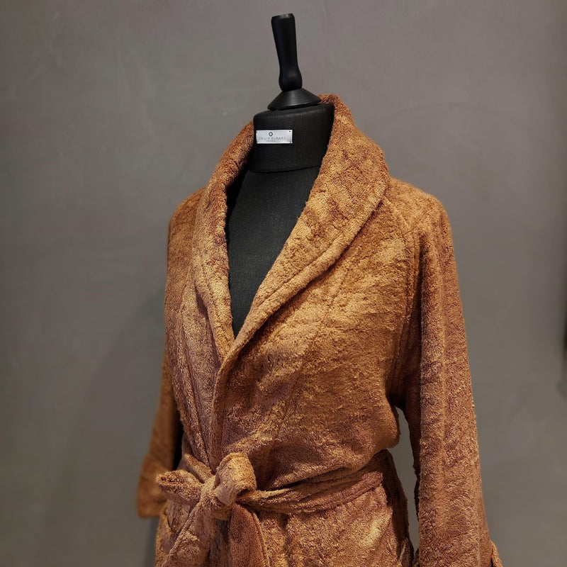 """WOOD FIBER"" BATHROBE COLLECTION"