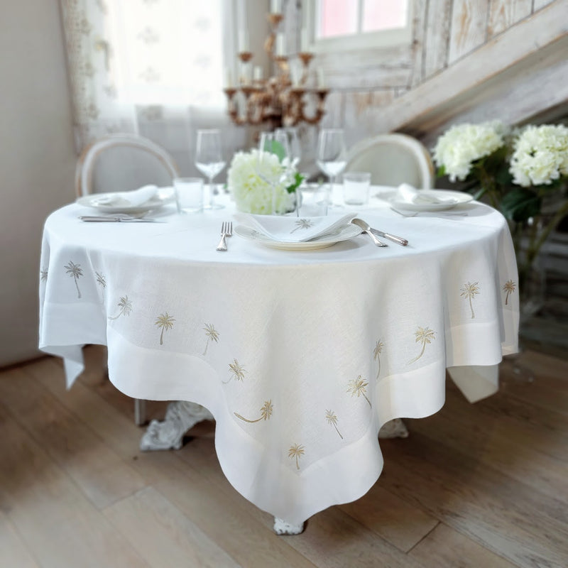 The Palm Tablecloth