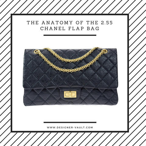 History of Chanel 2.55 Flap Bag